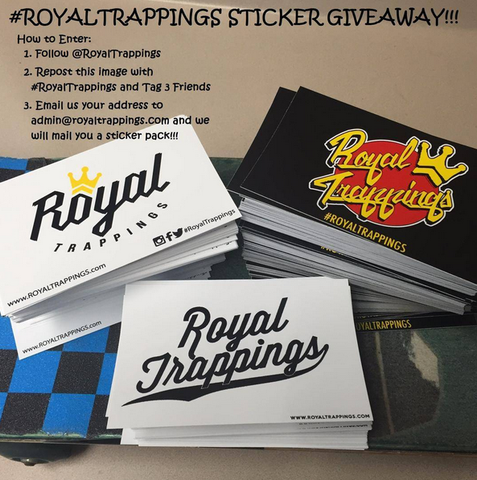 Royal Trappings Free Sticker Contest