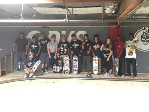 Team Royal Trappings at Skatelab Simi Valley for CASLUSF