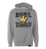 ROYAL TRAPPINGS PIRATES PULL OVER CAMO HOODIE GRAY FRONT