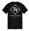ROYAL TRAPPINGS CLASSIC TEE T-SHIRT BLACK BACK