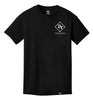 ROYAL TRAPPINGS CLASSIC TEE T-SHIRT BLACK FRONT