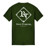 ROYAL TRAPPINGS CLASSIC TEE T-SHIRT OLIVE GREEN BACK
