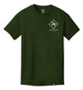 ROYAL TRAPPINGS CLASSIC TEE T-SHIRT OLIVE GREEN FRONT