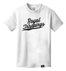 ROYAL TRAPPING CURSIVE TEE T-SHIRT WHITE FRONT