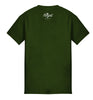 ROYAL TRAPPINGS LITTLE LEAGUE TEE T-SHIRT OLIVE GREEN BACK