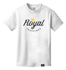ROYAL TRAPPINGS LOGO TEE T-SHIRT WHITE FRONT