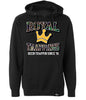 ROYAL TRAPPINGS PIRATES PULL OVER CAMO HOODIE BLACK FRONT