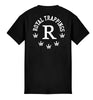 ROYAL TRAPPINGS R TEE T-SHIRT BLACK BACK