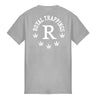 ROYAL TRAPPINGS R TEE T-SHIRT GRAY BACK