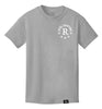 ROYAL TRAPPINGS R TEE T-SHIRT GRAY FRONT