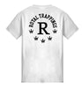 ROYAL TRAPPINGS R TEE T-SHIRT WHITE BACK