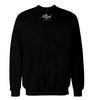ROYAL TRAPPINGS SAVED BY THE TRAP CREWNECK SWEATSHIRT BLACK BACK