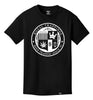 ROYAL TRAPPINGS SEAL TEE T-SHIRT BLACK FRONT
