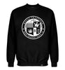ROYAL TRAPPINGS SEAL CREWNECK SWEATSHIRT BLACK FRONT
