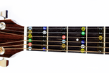 Guitar Fret Stickers- Color Coded