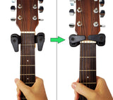 Guitar Hanger with Auto Lock Tabs