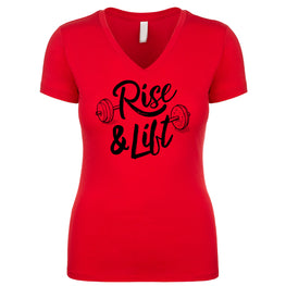 Rise and Lift Women's V Neck