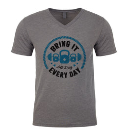 Bring It All Day, Every day Men's V Neck