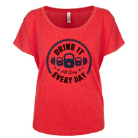 Bring It All Day, Every day Women's Dolman