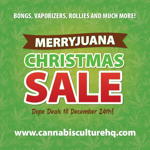 Cannabis Culture Merryjuana Christmas Sale