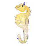 Glass Seahorse Hand Pipe