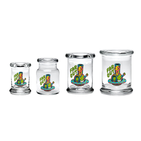 420 Jar with Pop-Top - Far Out
