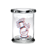 420 Jar with Pop-Top - 3D 'Water Pipe'
