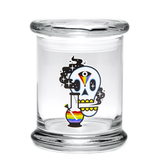 420 Jar with Pop-Top - Cosmic Skull