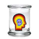 420 Jar with Pop-Top - Rainbow Mind