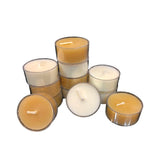 Locally Made Beeswax Tealights by Arbutus Candle Company