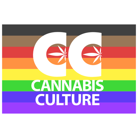 Cannabis Culture Pride Flag Sticker