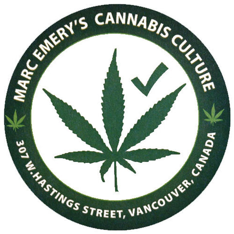 Cannabis Culture Lounge Hastings Sticker