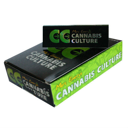 Cannabis Culture Rolling Papers - Box of 25