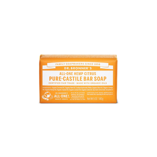 Citrus Dr. Bronner's Pure-Castile Bar Soap