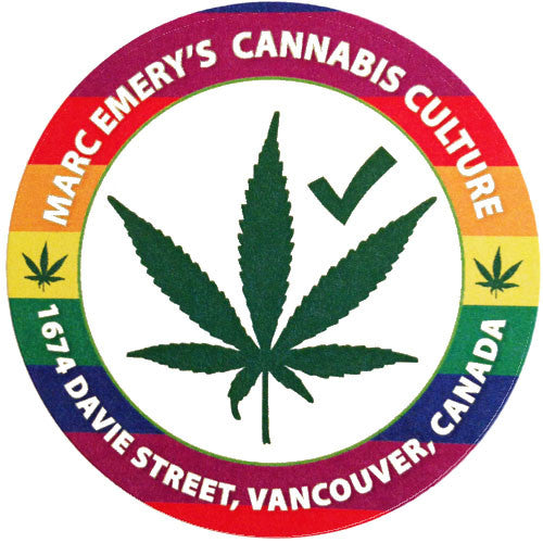 Cannabis Culture Lounge Davie Sticker