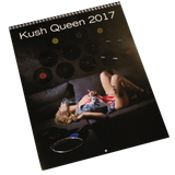 Kush Queen 2017 Wall Calender