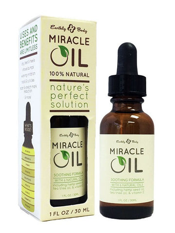 Earthly Body Hemp Seed Miracle Oil