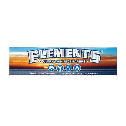 Elements Rolling Papers - King Size