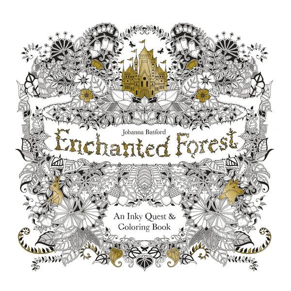 Enchanted Forest - Coloring Book