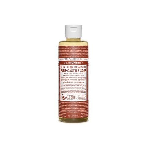 Eucalyptus Dr. Bronner's 18-in-One Liquid Soap