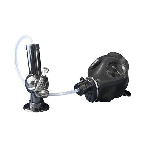 Gas Mask with Bong