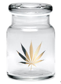 Small Pop-Top 420 Jar - Available in a Variety of Styles