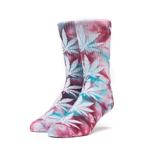HUF Plantlife Crystal Wash Crew Sock in Port Royale