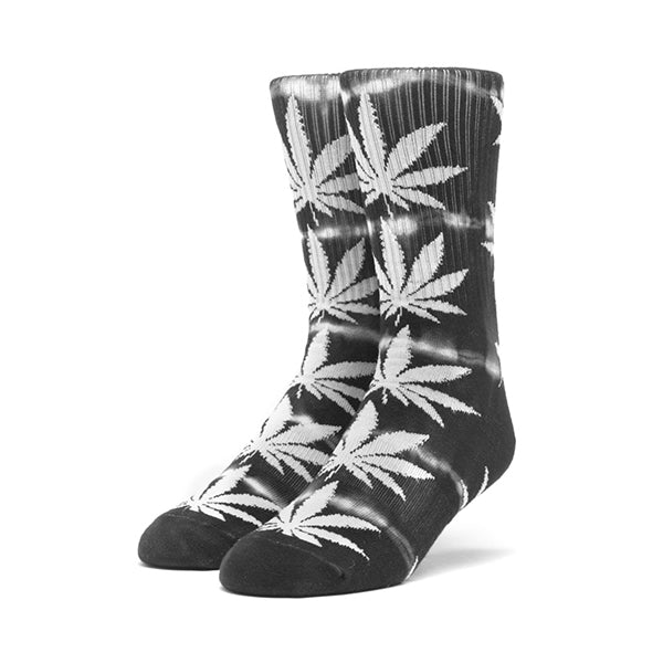 HUF Plantlife Lightning Wash Crew Sock in Black
