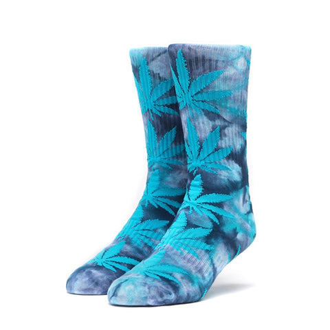 HUF Plantlife Crystal Wash Crew Sock in Mood Indigio