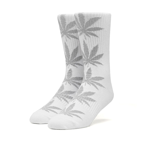 HUF Reflective Plantlife Crew Sock in White
