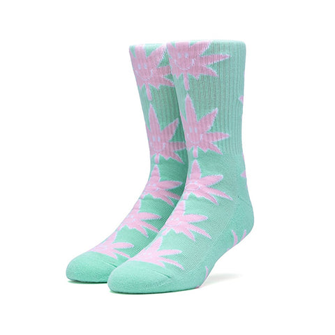 HUF Plantlife Crew Sock - Mr. Nice Guy in Mint