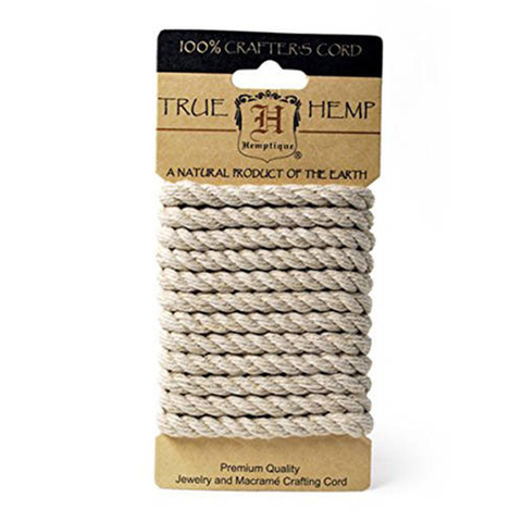 Small Spool of Thick Natural Hemp Cord
