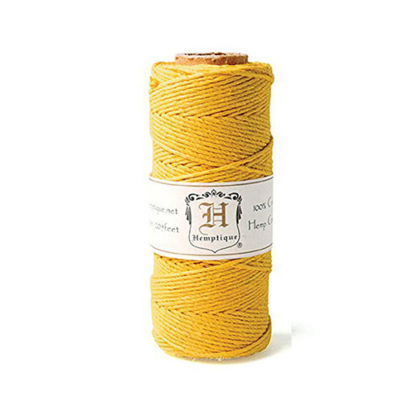 205 ft Hemp Cord (20lb) Spool in Gold