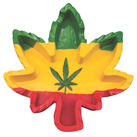 Jamaica Leaf Ashtray